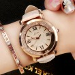 Fashion Shining Flowing Diamond Roman Numerals Dial Quartz Women's Watch