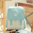Fresh Mixed Colors Polka Dot School Bag Travel Computer Backpack