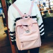 Unique Multi-function Travel Handbag Backpack Leisure Canvas Lady School Rucksack