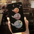 Lovely Couple Birds Cartoon Embossed Iphone 6/6s/6 plus/6s plus/7/7plus/8/8 plus Iphone Case Iphone Cover