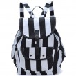Leisure Striped Folk Style Geometric Backpack