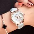 Luminous Quartz Cortical Star Cute Diamond Waterproof Women Wrist Watch