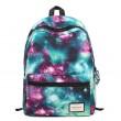 Vintage Galaxy Colorful Couple Waterproof Backpack School Bag