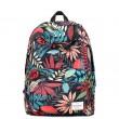 Flower Printing Leisure Canvas College Backpacks