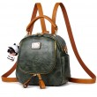Retro Multi-function Small Square PU Shoulder Bag Handbag Backpack