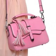 Fresh Casual Tassel Arrow Candy Color Shoulder Bag&Messenger Bag