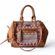 Leisure Street Style Rhombus Shoulder Bag Messenger Bag HandBag