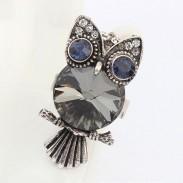 Personality Retro Style Owl Animal Ring