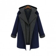 Unique Multi-function Winter Coat Woolen Coat Windbreaker Parkas