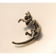 Special Long Tail Leopard Animal Stud Earrings