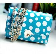 Fresh Sweet Polka Dot Chain Shoulder Bag&Messenger Bag