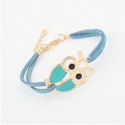 Lovely Cute Infinity Owl Bracelet