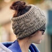 Unique Serratula Wool Hair Band Knitted Headband