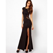Elegant Sexy Lace Slim Split Dress &Party Dress