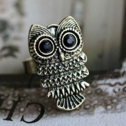 Cute New Accessory Owl Ring