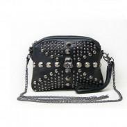 Punk Style Skull Rivet  Chain Shoulder Bag
