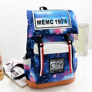 Fashion Galaxy Star Printed Backpack
