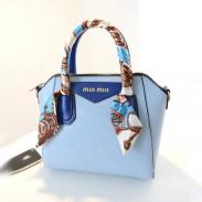 Fashion Smiley Scarves Shells Handbag
