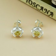 Little Daisy 925 Sterling Silver Ear Studs