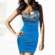 Bodycon Sequins Dress Party Dress Nightclub Dress