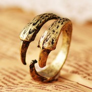 Vintage Eagle Claw  Rings Jewelry