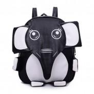 Super Cute Panda Elephant Kitten-shaped School Bag Mixed Colors Backpack