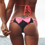 New Bow sexy Swimming pants For Women