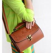 Korean Style  Palace Printed  Handbag&Shoulder Bag