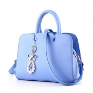 Leisure Women Leather Shoulder Bag Tote Ladies Hard Purse Handbag