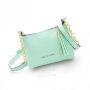 Fashion Sweet Tassel Cute Chain Shells Shoulder Bag