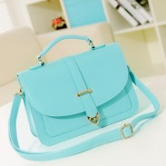 Elegance Intellectual Mint Green Shoulder Bag&Messenger Bag