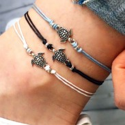 Unique Foot Accessory Beach Anklet Three Color Tortoise Summer Anklet