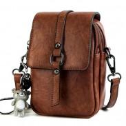 Fashion Cute Square Single Buckle Lady Messenger Bag Shoulder Bag
