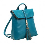 Fashion Freedom Locking Lid Portable Tassel Backpack