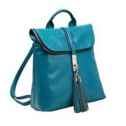 Fashion Freedom Locking Lid Portable Tassel Backpack