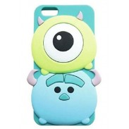 3D Cute Cartoon Soft Silicone Skin Case Cover for iPhone5/5S /6 (4.7 inch)