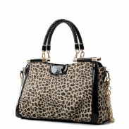 Fashion Unique Designer Leopard Handbag