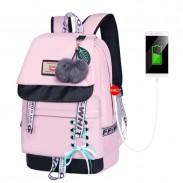 Fresh Bandage Bow Waterproof Shoelace Style Student Backpack Junior High School Backpack