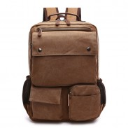 Leisure Multi Pockets Outdoor Rucksack Men's Backpack Student Laptop Travel Backpack