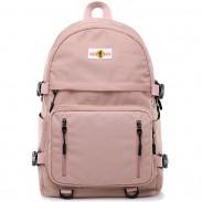 Leisure School Backpack Sport USB Interface Junior Student Bag Waterproof Backpack