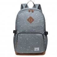 Leisure Large Dot Elephant Nose Travel Bag Oxford Cloth Student Backpack
