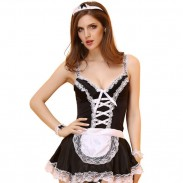 Sexy Uniform Lingerie Roles Cosplay Masquerade Lace Costume Women Lingerie