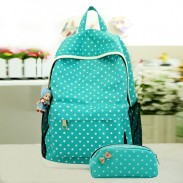 Leisure Stars Waterproof Candy Colors School Bag Travel Computer Backpack