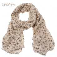 Fashion lovely sweet chiffon bow scarf