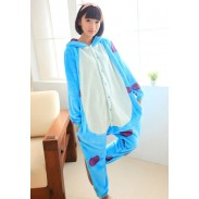 Power University Wool Flannel Sullivan Cartoon One-Piece Pajamas