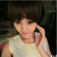 Cute Fresh Bobo Fluffy Style Short Wigs
