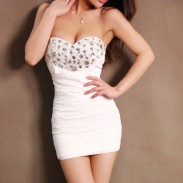 Sexy Bodycon Rhinestone Dress Party Dress