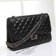 Fashion Rhombus Chain Mirror Handbag Shoulder Bag