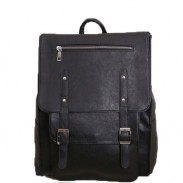 Vintage British Autumn College Rucksack Leather Schoolbag Backpack
