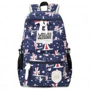 Casual Printing School Bag Teenagers Rucksack Travel Sport Backpack